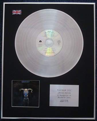 EAGLES - Limited Edition CD Platinum LP Disc - ONE OF THESE NIGHTS