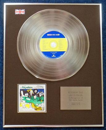 Bonzo Dog Doo-Dah Band- Limited Edition CD Platinum LP Disc - Keynsham
