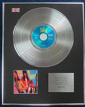 Sweet - Limited Edition CD Platinum LP Disc - The Best of