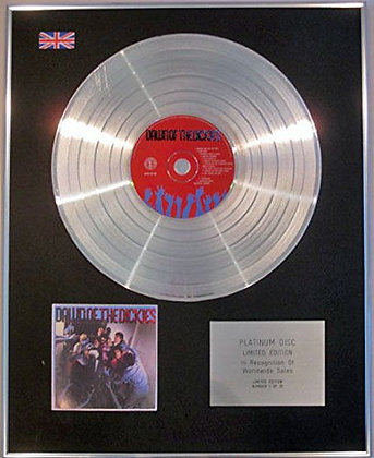 DICKIES - Limited Edition CD Platinum Disc - THE DAWN OF THE DICKIES