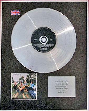 VERVE - CD Platinum Disc - URBAN HYMNS