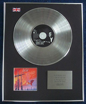 Meatloaf - Limited Edition CD Platinum LP Disc - The Very Best Of