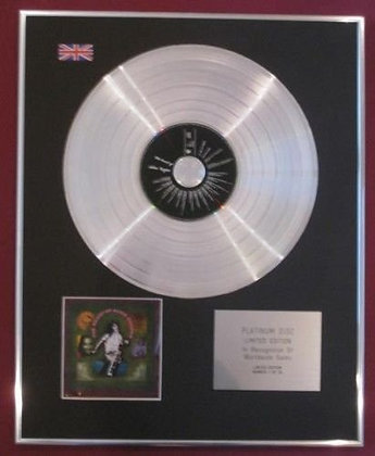 ALICE COOPER -  Platinum Disc - THE BEAST OF ALICE COOPER