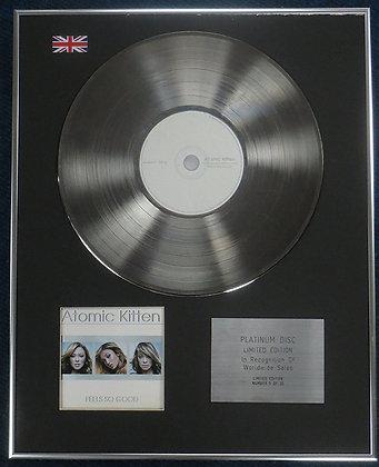 Atomic Kitten - Limited Edition CD Platinum LP Disc - Feel so good