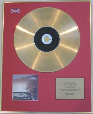ARCADE FIRE - CD 24 Carat Gold Disc - THE SUBURBS