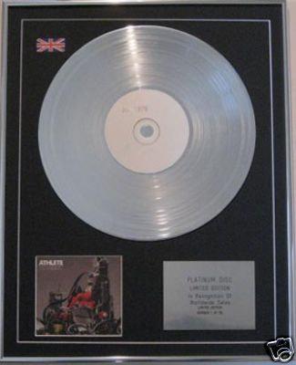 ATHLETE  -CD Platinum Disc- TOURIST