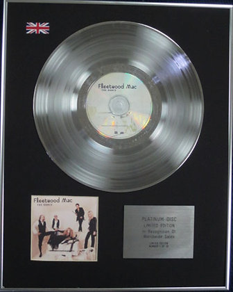 FLEETWOOD MAC - Limited Edition CD Platinum Disc - THE DANCE