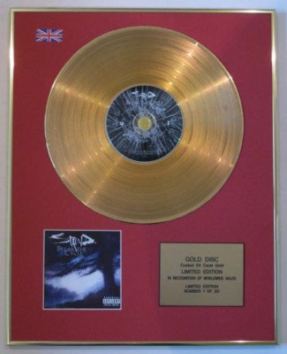 STAIND-Ltd Edtn CD 24 Carat Gold Disc-BREAK THE CYCLE