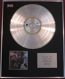 TOM WAITS - CD Platinum Disc - SMALL CHANGE