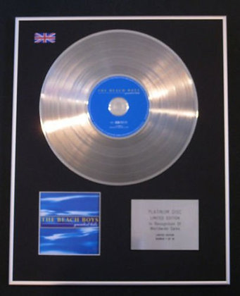 BEACH BOYS - CD Platinum Disc - GREATEST HITS