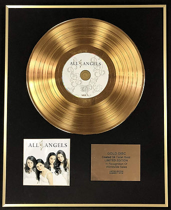 All Angels - Exclusive Limited Edition 24 Carat Gold Disc - All Angels