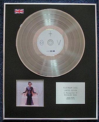 St. Vincent - Limited Edition CD Platinum LP Disc - 'St. Vincent'