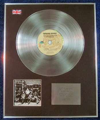 ALLMAN BROTHERS - CD Platinum Disc - AT FILLMORE EAST