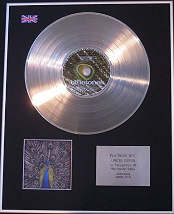 BLUETONES - CD Platinum Disc - EXPECTING TO FLY