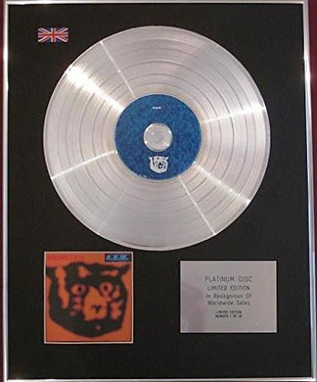R.E.M.   Limited Edition CD Platinum Disc - MONSTER