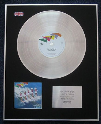 GO GO'S - Limited Edition CD Platinum LP Disc - VACATION