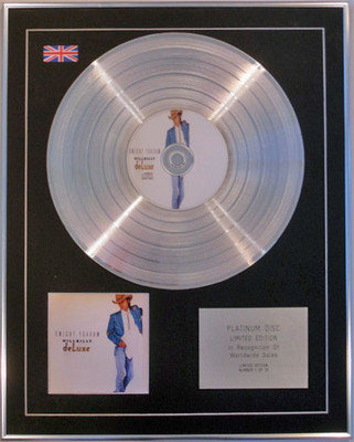 DWIGHT YOAKAM  - Limited Edition CD Platinum Disc - HILLBILLY DELUXE