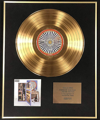 Oasis - Exclusive Limited Edition 24 Carat Gold Disc - Stop The Clocks