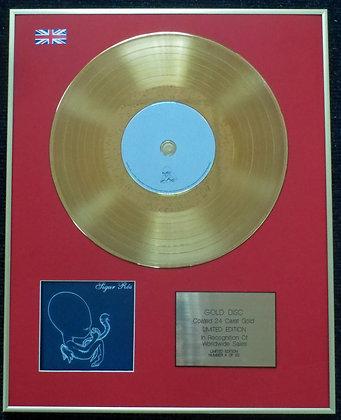 Sigur R?s - Limited Edition CD 24 Carat Gold Coated LP Disc - ?g?tis byrjun