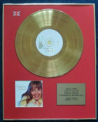 Charlotte Church - 24 Carat Gold Coated LP Disc - Voice of an Angel