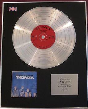 THE BYRDS - CD Platinum Disc - TURN TURN TURN