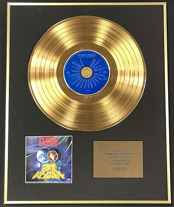 Public Enemy - Exclusive Edition 24 Carat Gold Disc - Fear Of A Black Planet