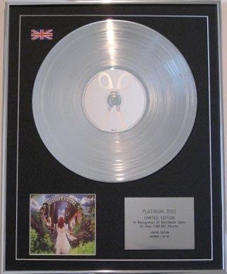 SCISSOR SISTERS  CD Platinum Disc