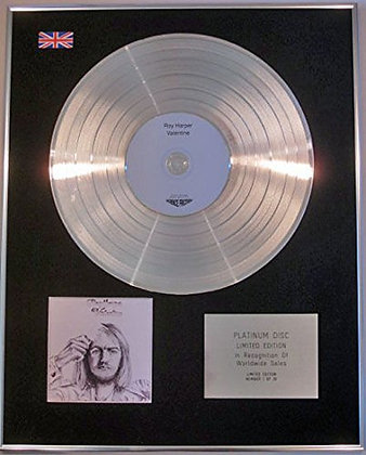 ROY HARPER - CD Platinum Disc - VALENTINE