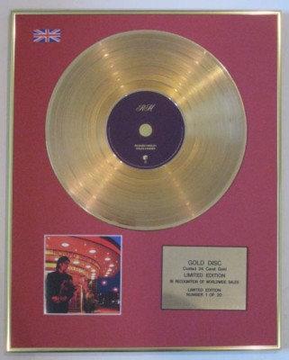 RICHARD HAWLEY - Ltd Edtn CD Gold Disc- COLES CORNER