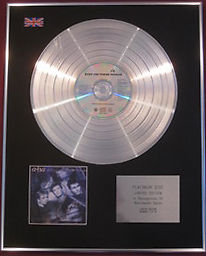 A-ha  - CD Platinum Disc STAY ON THESE ROADS