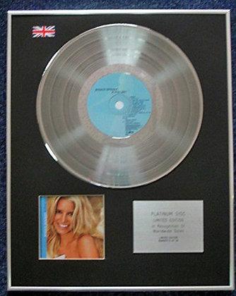 Jessica  Simpson - Limited Edition CD Platinum LP Disc - In this skin