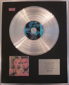 2 UNLIMITED - Limited Edition CD Platinum Disc - NO LIMITS