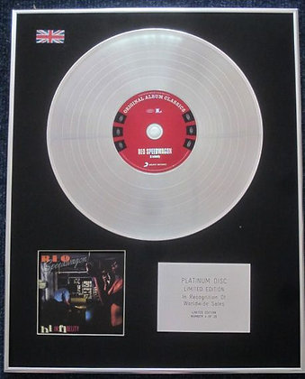 REO SPEEDWAGON - Limited Edition CD Platinum LP Disc - HI INFIDELITY