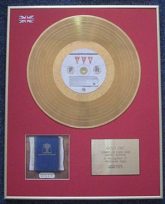FRIGHTENED RABBIT - CD 24 Carat Gold Coated LP Disc - PEDESTRIAN VERSE