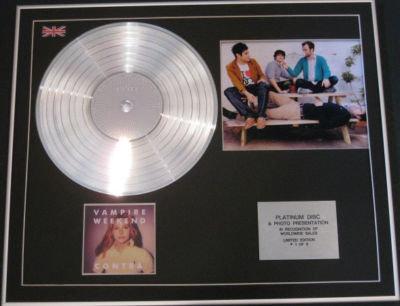 VAMPIRE WEEKEND CD Platinum Disc+Photo- CONTRA