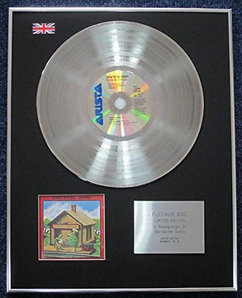 Grateful Dead - Limited Edition CD Platinum LP Disc - Terrapin Station