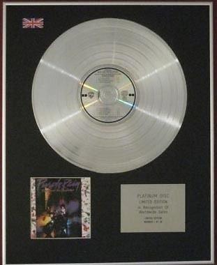 PRINCE -  Limited Edition CD Platinum Disc - PURPLE RAIN