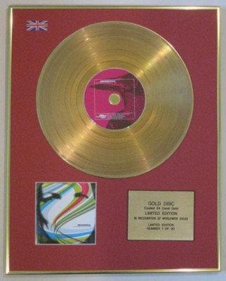 THE NATIONAL -Ltd Edtn CD Gold Disc- SAD SONGS FOR---