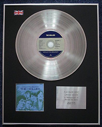 The Hollies - CD Platinum LP Disc - Would you believe The Hollies