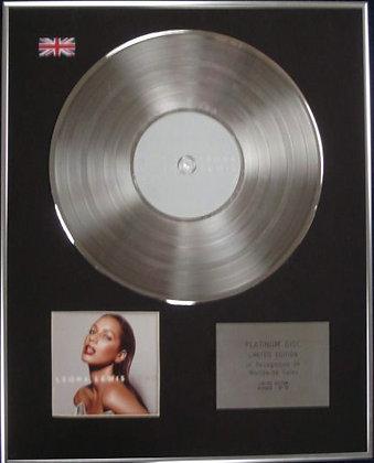 LEONA LEWIS - Limited Edition CD Platinum Disc - ECHO