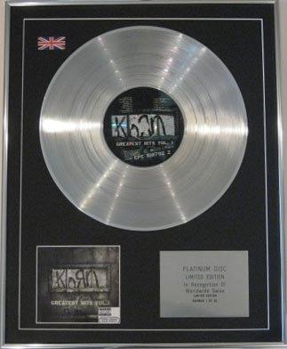 KORN - CD Platinum Disc- GREATEST HITS VOL1