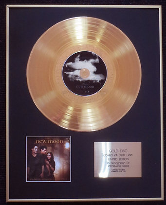 The Twilight Saga,New Moon - Exclusive 24 Carat Gold Disc - Soundtrack