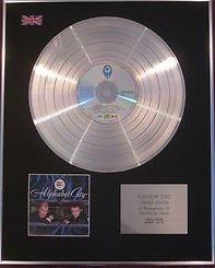 ABC -   CD Platinum Disc -  ALPHABET CITY