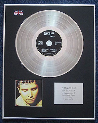 Grant Lee Buffalo - Limited Edition CD Platinum LP Disc - Fuzzy