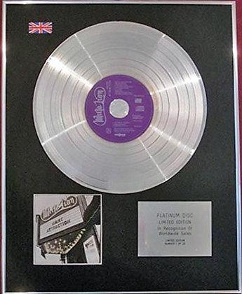 WHITE LION - CD Platinum Disc - MANE ATTRACTION