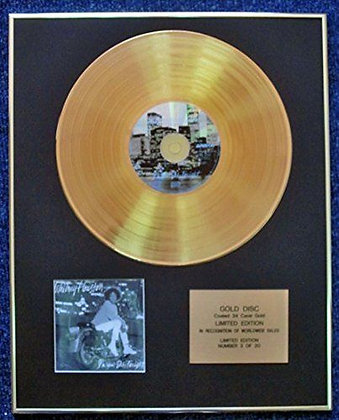 Whitney Houston - LTD Edition CD 24 Carat Gold Coated LP Disc - I'm Your Baby…