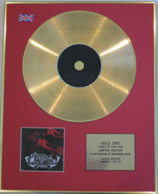 BULLET FOR MY VALENTINE-CD 24 CaratGoldDisc-THE POISON