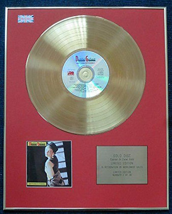 DEBBIE GIBSON - CD 24 Carat Gold Coated LP Disc - ANYTHING IS POSSIBLE
