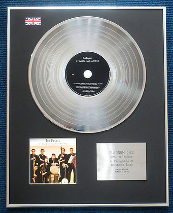 The Pogues- LTD Edition CD Platinum LP Disc - If I Should Fall from?