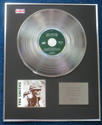 Smiths - Limited Edition CD Platinum LP Disc - Meat is Murder